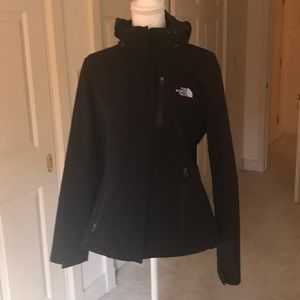 The North Face soft shell jacket